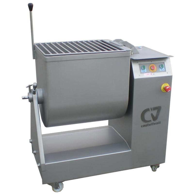 Vacuum kneader-mixer [AM-100]