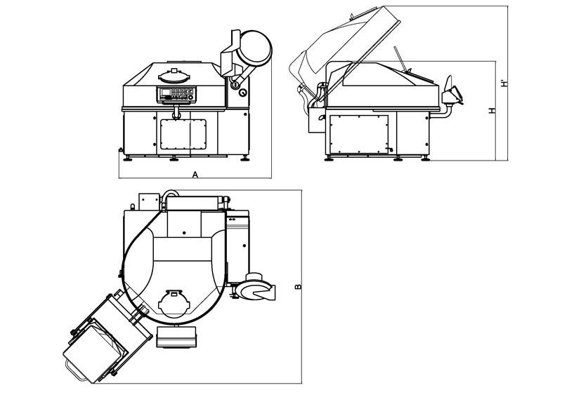 Vacuum cutter 200-300-500