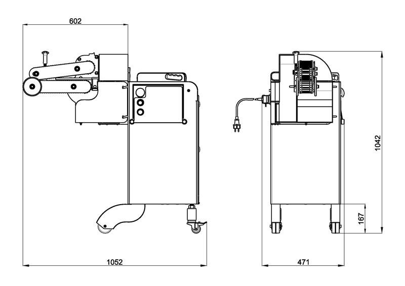 Lieuse de fil automatique pour la saucisse [AHC-180-185-250] Castellvall